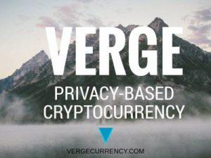 Криптовалюта XVG от компании Verge